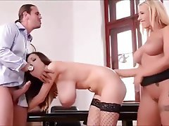 Big Boobs Blowjob Cumshot MILF Threesome