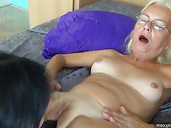 Lesbian Masturbation Mature Old and Young
