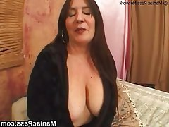 Big Boobs Brunette Granny Hairy Mature