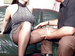 German Hardcore Mature MILF Pantyhose