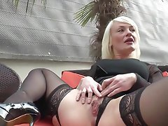 Amateur Anal Blonde French Mature