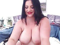Amateur BBW Big Boobs Masturbation Webcam