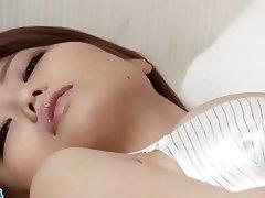 Asian Japanese Lingerie Masturbation Stockings