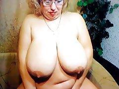 BBW Big Boobs Mature Webcam