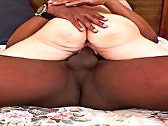 Blonde Blowjob Interracial MILF Dildo
