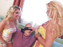 Big Boobs Blonde Cumshot Pornstar Threesome
