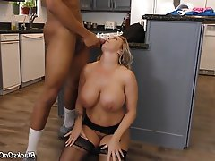 Big Boobs Mature MILF Group Sex Creampie