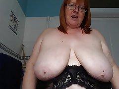 British BBW Big Boobs Mature