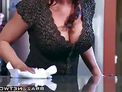 Big Boobs Blowjob Hardcore MILF Kitchen