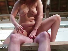 German Hardcore Mature MILF Stockings