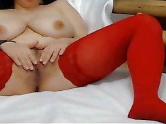 Big Boobs Masturbation Saggy Tits Webcam