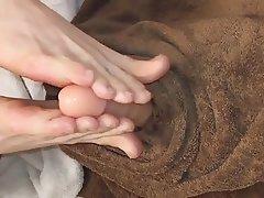 Dildo Foot Fetish Footjob