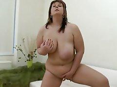 Babe BBW Masturbation Big Tits Chubby