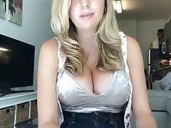 Babe Blonde Big Boobs Big Tits