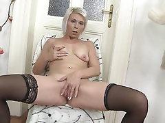 Amateur Mature Stockings MILF Granny