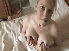 Amateur Big Boobs Blonde Mature MILF