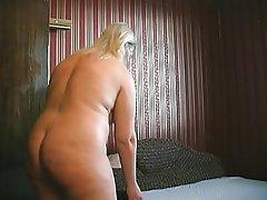BBW Big Boobs Granny Masturbation Mature