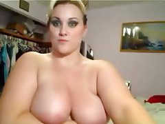 Amateur BBW Big Boobs Blonde Webcam