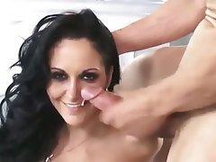 Blowjob Cumshot Facial MILF Threesome