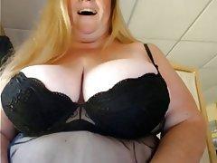 Amateur BBW Big Boobs Mature Webcam