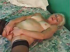 Cumshot Granny Hardcore Stockings