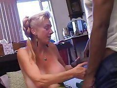 Blowjob Creampie Interracial Mature Old and Young