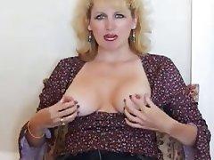 Amateur Blonde Cumshot Mature MILF