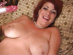 Masturbation Mature Redhead Big Boobs