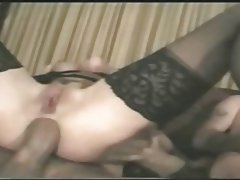 Amateur Anal Mature Swinger Threesome