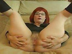 Big Boobs Masturbation Mature Redhead Softcore