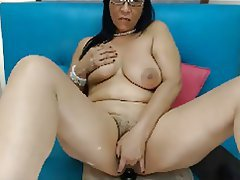 Big Boobs Masturbation Mature MILF Webcam