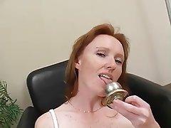 Masturbation Mature Redhead Softcore
