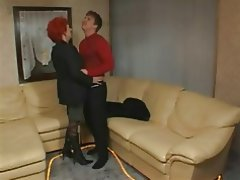 Anal Cumshot Mature Old and Young Redhead