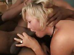 Anal Blowjob Interracial MILF Threesome