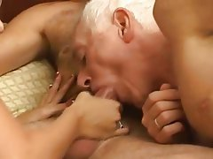 Amateur Bisexual Blowjob Mature Threesome