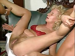 Granny Group Sex Hairy Mature