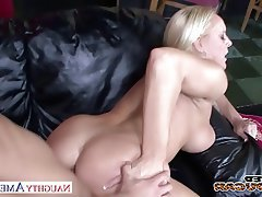 Blonde Blowjob Hardcore MILF Pornstar
