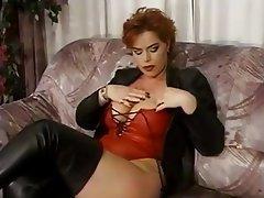 Big Boobs German Masturbation Mature Redhead