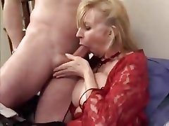 Anal Big Boobs French Mature MILF