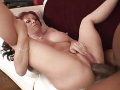 Anal Big Boobs Interracial MILF Redhead