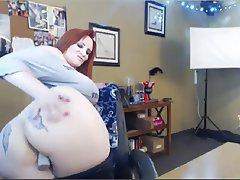 Masturbation Mature Redhead Webcam