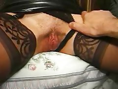 Hairy Lingerie Mature
